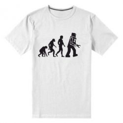 Мужская стрейчевая футболка The Bing Bang theory Evolution