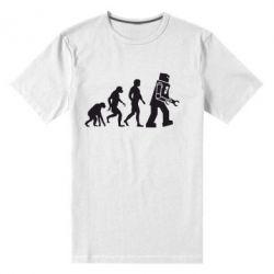 Мужская стрейчевая футболка The Bing Bang theory Evolution - FatLine