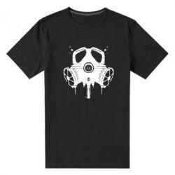 Мужская стрейчевая футболка The Chemodan Clan противогаз - FatLine
