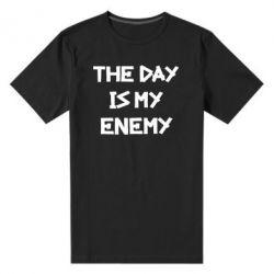 Мужская стрейчевая футболка The day is my enemy