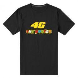 Мужская стрейчевая футболка The Doctor Rossi 46 - FatLine