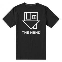 Мужская стрейчевая футболка THE NBHD Logo