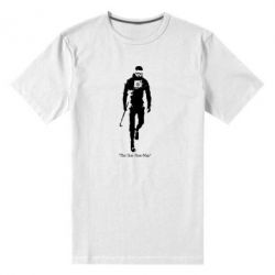 Мужская стрейчевая футболка The one Free-Man - FatLine