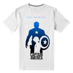 Мужская стрейчевая футболка The Patriot - FatLine