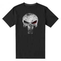 Мужская стрейчевая футболка The Punisher Logo - FatLine