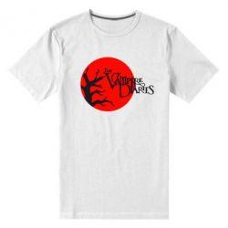 Мужская стрейчевая футболка The Vampire Diaries
