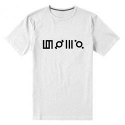 Купить 30 Seconds to Mars, Мужская стрейчевая футболка Thirty seconds to Mars Glyphs, FatLine