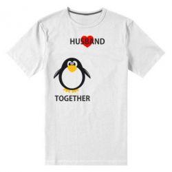 Мужская стрейчевая футболка Together forever2