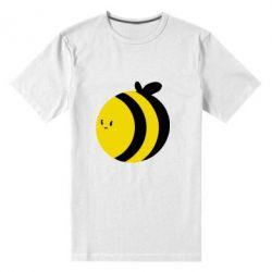 Чоловіча стрейчова футболка товста бджілка - FatLine