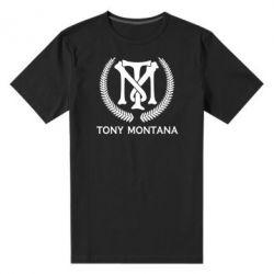 Чоловіча стрейчева футболка Tony Montana Logo