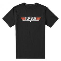Чоловіча стрейчева футболка Top Gun Logo