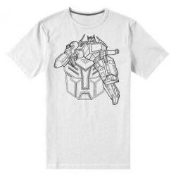 Мужская стрейчевая футболка Трансформер 3
