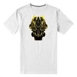 Мужская стрейчевая футболка Трансформер маска