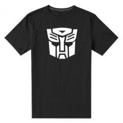 Мужская стрейчевая футболка Трансформеры Автоботы - FatLine