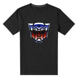 Чоловіча стрейчева футболка Трансформери Лого 1