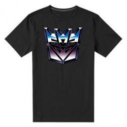 Мужская стрейчевая футболка Трансформеры Лого 2