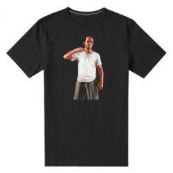 Мужская стрейчевая футболка Trevor - FatLine
