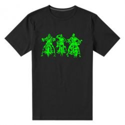 Мужская стрейчевая футболка Три богатыря - FatLine