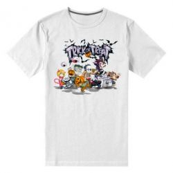 Мужская стрейчевая футболка Trick or treat - FatLine