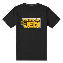 Мужская стрейчевая футболка Trust me, I'm a Jedi - FatLine