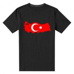 Мужская стрейчевая футболка Turkey - FatLine