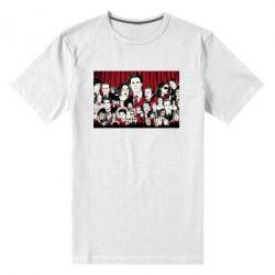 Мужская стрейчевая футболка Твин Пикс
