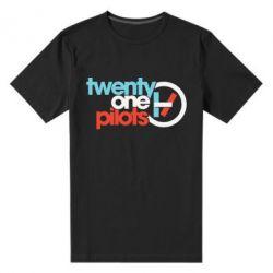 Чоловіча стрейчева футболка Twenty One Pilots Logo