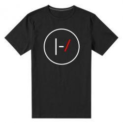 Мужская стрейчевая футболка Twenty One Pilots Logotype