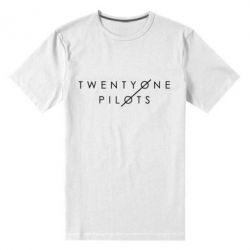 Мужская стрейчевая футболка Twenty One Pilots - FatLine