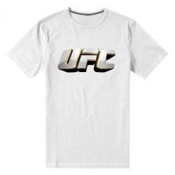Мужская стрейчевая футболка UFC 3D - FatLine