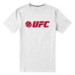 Мужская стрейчевая футболка UFC Main Logo - FatLine