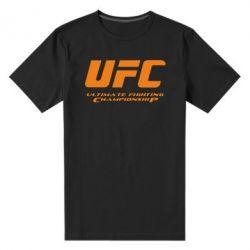 Мужская стрейчевая футболка UFC - FatLine