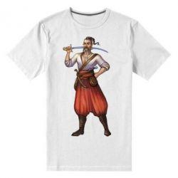 Мужская стрейчевая футболка Ukraine Cossak