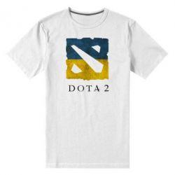 Мужская стрейчевая футболка Ukraine Dota Team - FatLine
