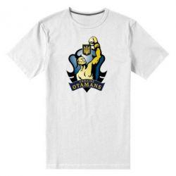 Мужская стрейчевая футболка Ukraine Otamans - FatLine