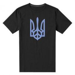 Мужская стрейчевая футболка Ukraine Peace - FatLine