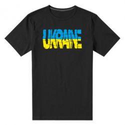 Мужская стрейчевая футболка Ukraine - FatLine