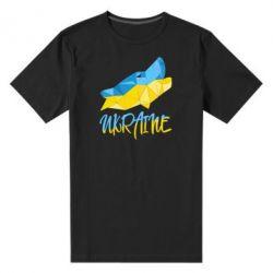 Мужская стрейчевая футболка Ukrainian Wolf - FatLine