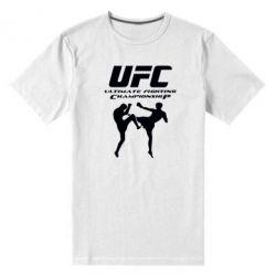 Мужская стрейчевая футболка Ultimate Fighting Championship - FatLine