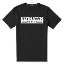 Мужская стрейчевая футболка Ultimatum Boxing - FatLine