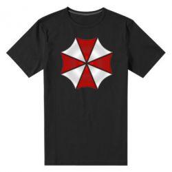 Мужская стрейчевая футболка Umbrella Corp Logo - FatLine