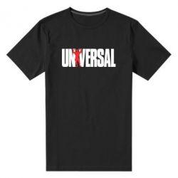 Мужская стрейчевая футболка Universal - FatLine