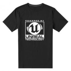 Мужская стрейчевая футболка Unreal - FatLine