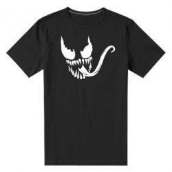 Мужская стрейчевая футболка Venom Silhouette