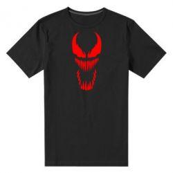Мужская стрейчевая футболка Веном Силуэт - FatLine