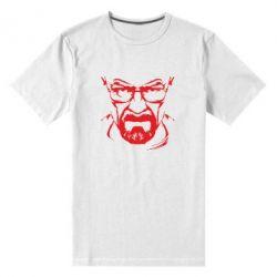 Мужская стрейчевая футболка Во все тяжкие (Уолтер) - FatLine