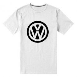 Мужская стрейчевая футболка Volkswagen - FatLine