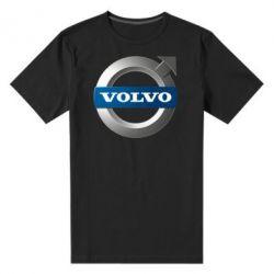 Мужская стрейчевая футболка VOLVO 3D - FatLine