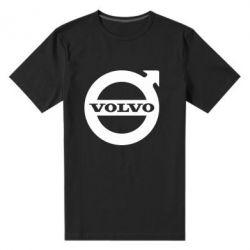 Мужская стрейчевая футболка Volvo - FatLine