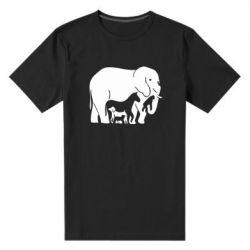 Чоловіча стрейчова футболка все в одному - FatLine